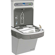 Elkay EZSG8WSLK EZH2O Water Bottle Refilling Station W/Single GreenSpec ADA Cooler, Light Gray