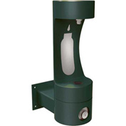 Elkay LK4405BF, Single Level Wall-Mount Outdoor Pedestal Fountain With Water Refilling Station