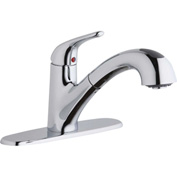Elkay LK5000CR, Everyday Pull-Out Kitchen Faucet, Chrome, Single Lever Handle