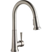 Elkay LK6000LS, Everyday Pull-Out Kitchen Faucet, Lustrous Steel, Single Lever Handle