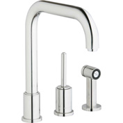 Elkay LK7722PSS, Ella Kitchen Faucet with Side Spray, Polished SS, Sgl Remote Lever Handle