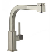 Elkay LKAV3041NK, Avado Pull-Out Kitchen Faucet, Brushed Nickel, Single Lever Handle