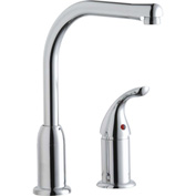Elkay LKF4121RS, Everyday Kitchen Faucet, Chrome, Single Remote Lever Handle