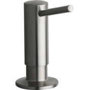 Elkay, LKGT1054NK, Gourmet Soap Dispenser, Brushed Nickel