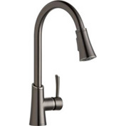 Elkay LKGT3031AS, Gourmet Pull-Down Kitchen Faucet, Antique Steel, Single Lever Handle