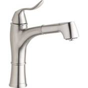 Elkay LKLFEC1041NK, Explore Pull-Out Kitchen Faucet, Brushed Nickel, Single Lever Handle
