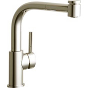 Elkay LKLFMY1041NK, The Mystic Pull-Out Kitchen Faucet, Brushed Nickel, Single Lever Handle
