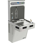 Elkay LMABFDWSSK EZH2O Water Bottle Refilling Station, Single, Non Refrigerated, Filtered, Stainless