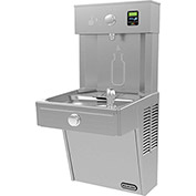 Elkay LVRCDWSK EZH2O Vandal-Resistant Water Bottle Refilling Station, Single, Non Refrig,Filtered,SS