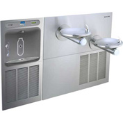 Elkay LZWS-SFGRN28K EZH20 Filtered InWall Bottle Station w/Bi-Level Swirlflo
