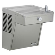 Elkay ADA Vandal Resistant Water Cooler, Stainless Steel, Louver Screens, 115V, 5 Amps, VRCSC8S