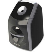 Elmer's® SharpX Classic Electric Pencil Sharpener Desktop Black, Silver
