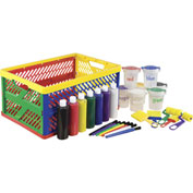 ECR4Kids® 27 Pc. Paint Set with Collapsible Crate