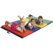 ECR4Kids® Tumbling Mat - 4 Section 4' x 6'