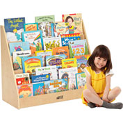 ECR4Kids® Single-Sided Book Display Birch