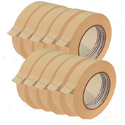 "Ecr4kids® White Masking Tape Roll - 1""W, 1 Roll, Priced Ea, Sold 120/PK - Pkg Qty 120"