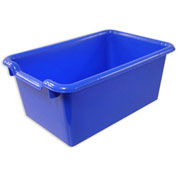 "ECR4Kids®  ELR-0482 Scoop Front Bin, 11-1/2""L x 8""W x 5""H, Blue, Priced Each - Pkg Qty 10"