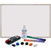 "ECR4Kids® 24"" x 36"" MessageStor® Magnetic Dry-Erase Set"