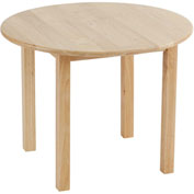"30"" Round Hardwood Table (18"" Legs)"