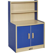 ECR4Kids® Colorful Essentials Play Cupboard - Blue