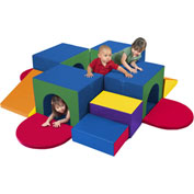 ECR4Kids® SoftZone™ Tunnel Maze