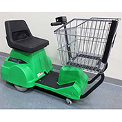 Electro Kinetic Technologies EZ-Shopper Electric Grocery Cart EZS-1772-8000-GN Green 750 Lb. Cap.