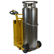 Electro Kinetic Technologies Upright Motorized Cylinder Cart MCC2010 for Large Liquid Gas Cylinders