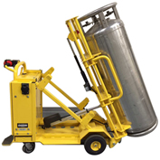 Electro Kinetic Technologies Inclined Motorized Cylinder Cart MCC2100 for Large Liquid Gas Cylinders