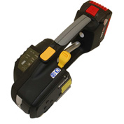 """Heavy Duty Battery Tool For Poly Strapping 1/2"""" - 5/8"""" Strap Widths"""