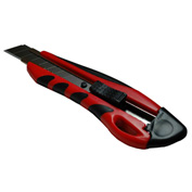 Retractable Heavy Duty Snap-Off Knife, Built-In Blade Breaker