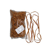 """ENCORE Large Rubber Band, 12"""" Circumference, 1/4"""" Wide ,Approximately  55 Bands"""