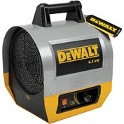 DeWALT® Portable Forced Air Electric Heater  DXH330 3.3kW, 240V, Single Phase, 8,900 BTU