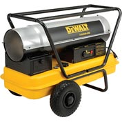 DeWALT Heavy Duty Forced Air Kerosene Heater DXH135HD 135,000 BTU