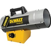 DeWALT® Portable Forced Air Propane Heater DXH150FAV 110K to 150K BTU