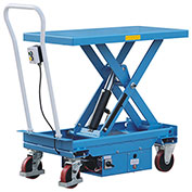 Eoslift ETA50 Scissor Lift Cart 1100 Lb. Capacity 20.5 x 38.9