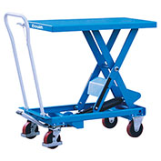 Eoslift TA50 Scissor Lift Cart 1100 Lb. Capacity 20.5 x 39.8