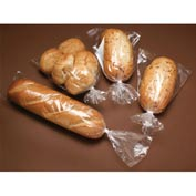 "Low Density Gusset Bag, 1 mil, 6"" x 3"" x 12"", Clear, Pkg Qty 1000"
