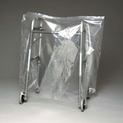 "Low Density Equipment Cover on Roll, 1 mil, 40"" x 20"" x 48"", Clear, Pkg Qty 150"