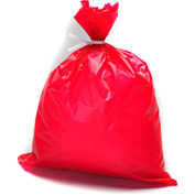 "High Density Red Dressing Disposal Bag, 1 mil, 6"" x 9"", Pkg Qty 1000"