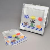 Printed Portion Control Bags - All Days (7 Colors) 8.5 x 10 0.5 Mil, Pkg Qty 2,000