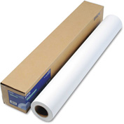 "Epson® Enhanced Photo Paper S041596, 36"" x 100', White, 1 Roll"