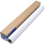 """Epson® Enhanced Adhesive Synthetic Paper S041619, 44"""" x 100', White, 1 Roll"""
