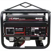 Lifan Power LF4000, 3500 Watt, Pro Series Portable Generator, Gasoline, Recoil Start
