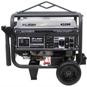 Lifan Power LF4250EPL-CA, 3500 Watt, Platinum Series Generator, Gasoline, Electric/Recoil, CARB