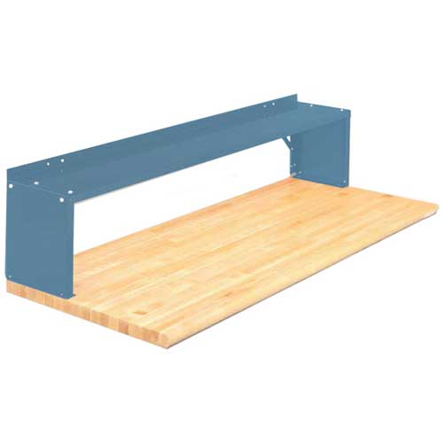 Equipto® Aerial Shelf For Bench 226-30-BL, Regal Blue