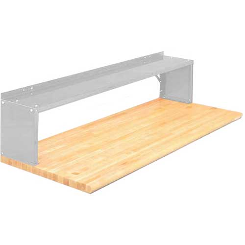 Equipto® Aerial Shelf For Bench 226-60-LG, Dove Gray
