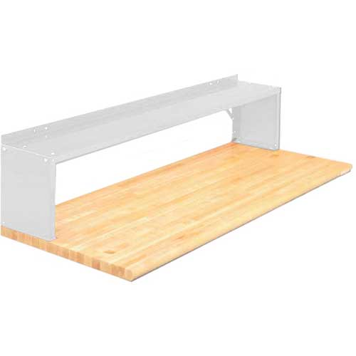 Equipto® Aerial Shelf For Bench 226-72-WH, Reflective White
