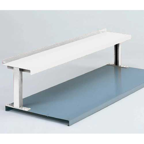 "Equipto® Production Booster 454T48-WH, 48""W X 14""H, 1 Shelf, Reflective White"
