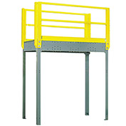 "Equipto 978S12 Catwalk, 120"" High Unit, Walkway 124"" x 48"""