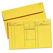 Attorney's Envelopes, Cameo Buff, Ungummed Flap, 10 x 14-3/4, 100/Box